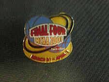 NCAA-2001 MEN'S FINAL FOUR-TWIN CITIES-DUKE WINS LOGO PIN