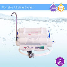 5 Stage 50 GPD PH Alkaline Portable Reverse Osmosis Water Filter System