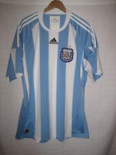 Argentina AFA Adidas Clima Cool soccer jersey men s L Olympics World Cup d186cd48e