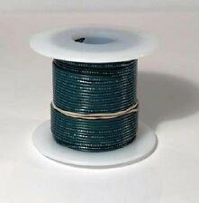24 AWG UL1007 UL1569 GREEN Hook-up Wire 100 foot spools ~ 10 Colors Available!