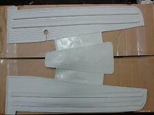 Vespa PX PE LML Grey Rubber Floor Mat Italian Made...