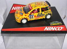 NINCO 50315 SLOT CAR FIAT PUNTO CATALUNYA COSTA BRAVA 2003 LIMIT.ED MB