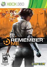 NEW - CAPCOM Remember Me ( Microsoft Xbox 360, 2013) VIDEO GAME - FREE SHIPPING
