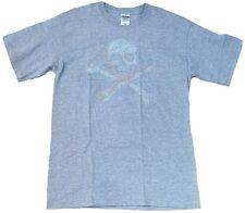 Calavera Calavera Diseñador rock star VIP Gris Moteado Gildan Camiseta M
