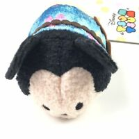 Disney Store Blue Aloha Hawaii Mickey Mouse Tsum Tsum Mini Plush Toy