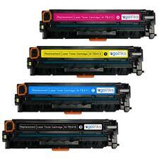 4 Cartucce di Toner (Set) per HP LaserJet Pro 200 Color MFP M276n & MFP M276nw