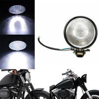 Phare rond rétro de la moto LED de 5inch salut / bas faisceau pour Suzuki KawLMA