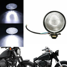 5Inch Motorcycle Retro Round LED Headlight Hi/Lo Beam For Suzuki Kawasak& TSAU