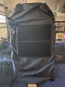 Greyman Tactical Vehicle Seat Back Organizer inc. cover