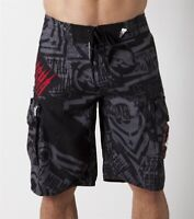 Metal Mulisha Men's D Lush II Technical Drinking Shorts Boardshorts Size 28