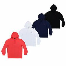 Polo Ralph Lauren para hombre con capucha Camiseta de manga larga Tejido de Malla de logotipo Pony M L XL XXL
