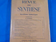 collectif REVUE DE SYNTHESE - 1948 tome XXIII:  le Catharisme...