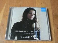 Dorothee Oberlinger - Telemann - Ensemble 1700 - CD DHM