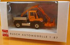 Busch 50922 Mercedes Benz Unimog U 430 Astschere Scale 1 87 NEU OVP
