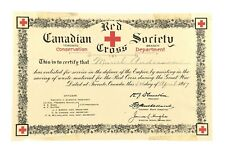 Canadian Red Cross Society Toronto Conservation Branch Department 8in x 5in L158
