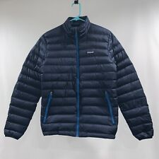 Patagonia Down Sweater Jacket Navy Blue Small (Men's)