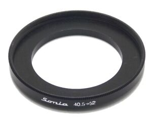 Metal Step up ring 40.5mm to 52mm 40.5-52 Sonia New Adapter
