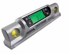Craftsman Level Laser Digital Torpedo Measure Grade Builders Carpenter Plumb
