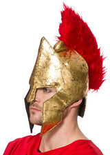 Soft Warrior Helmet Gladiator Adult Hat Fancy Dress Costume Accessory 9713