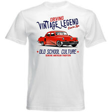 VINTAGE AMERICAN CAR TUCKER TORPEDO - NEW COTTON T-SHIRT