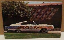 1967 THUNDER CHARGER DODGE BOYS SHOW HOT ROD BARRIS GEORGE PROMO POSTCARD MOPAR
