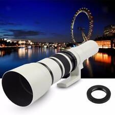 500mm F / 6.3 Objectif Fixe Miroir Fixe avec Adaptateur T2 pour Canon
