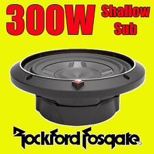 "Rockford Fosgate 8"" de 8 pulgadas 300W Car Audio Subwoofer superficial bajo Sub 20cm P3SD48"