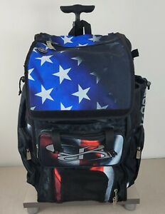 Boombah Baseball Softball Rolling Superpack 2.0 USA Flag