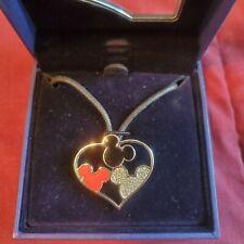 Swarovski Disney MICKEY Mouse heart necklace 1514975