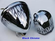 Flame Graphics fit Harley Davidson sportster custom 1200 883 Headlight & Horn