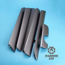 6Pcs Set OE Door Panel Dash Trim Dark Gray PV2 for VW Jetta Vento MK6 2011-2014
