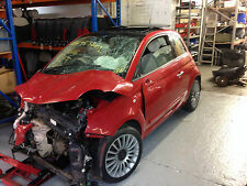 1.4 Fiat 500 breaking parts only 1x wheel bolt in rosso red