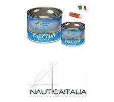 GELCOAT NAUTICO BIANCO PARAFFINATO  KG.5 + INDURITORE / CATALIZZATORE GR. 100