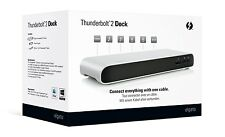 Elgato Thunderbolt 2 Dock with Thunderbolt Cable 4K and Dual Display Support