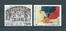 FRANCE TABLEAUX - 1988 YT 2553 à 2554 - TIMBRES OBLITÉRÉS