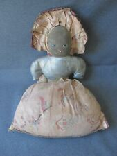 Vintage cute Topsy and Eva Cloth Face Oil Cloth Double Sided Doll