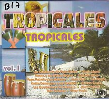 Los Santaneros de Pepe Bustos Sonia Lopez Tropicales Vol 1 CD New Sealed