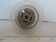 GE GL2224 20 AMP 277/480 VOLT 3PH 4 POLE 5 WIRE LOCKING FLANGED RECEPTACLE L22