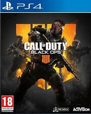 CALL OF DUTY BLACK OPS 4 IIII PS4 ESPA�'OL CASTELLANO CD F�SICO NUEVO SELLADO