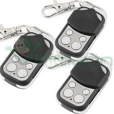 3x Telecomando radiocomando clone cancello elettrico automatico universale TC4C