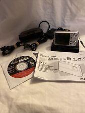 CASIO digital camera EXILIM  EX-V7 Silver ,7.2 MP