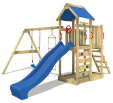 Wickey MultiFlyer Spielturm mit Rutsche, Schaukel und Sandkasten