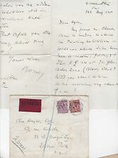 * 1925 Cubierta expreso Londres local & carta 7 D 1/2 Nr victoria Estación de tarifa de franqueo