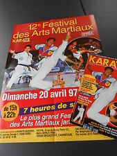 ►REVUE KARATE BUSHIDO  N°244 - 1997 - BERCY - BOXE THAI - TAI JI QUAN