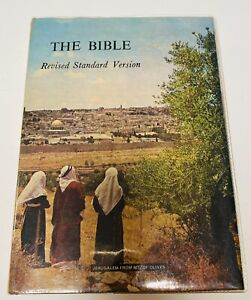 The Bible Hardcover Revised Standard Version Bible Society 2nd Edition 1971