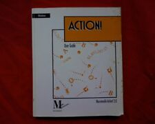 Windows Action 2.0  Macromedia, Vintage Computer instruction manual book