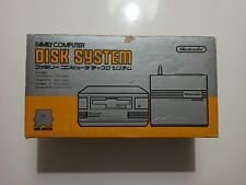 Famicom Disk System en caja con manual