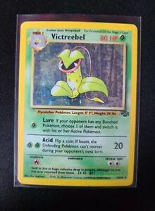 Victreebel 14/64 Jungle Holo Rare Pokemon Card LP