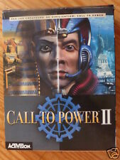 "JEU PC-CD-ROM ""CALL TO POWER 2"" BIG BOX TR BON ETAT + GUIDE STRATEGIQUE 216 PAGE"