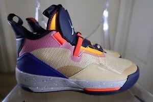Nike Air Jordan 33 XXXIII (Mens Size 10.5) Shoes AQ8830 200 Visible Utility
